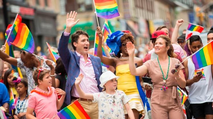 Trudeau + pride