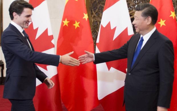 Trudeau in China